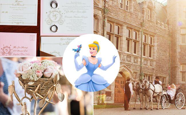 Disney princess weddings   blog.theknot.com