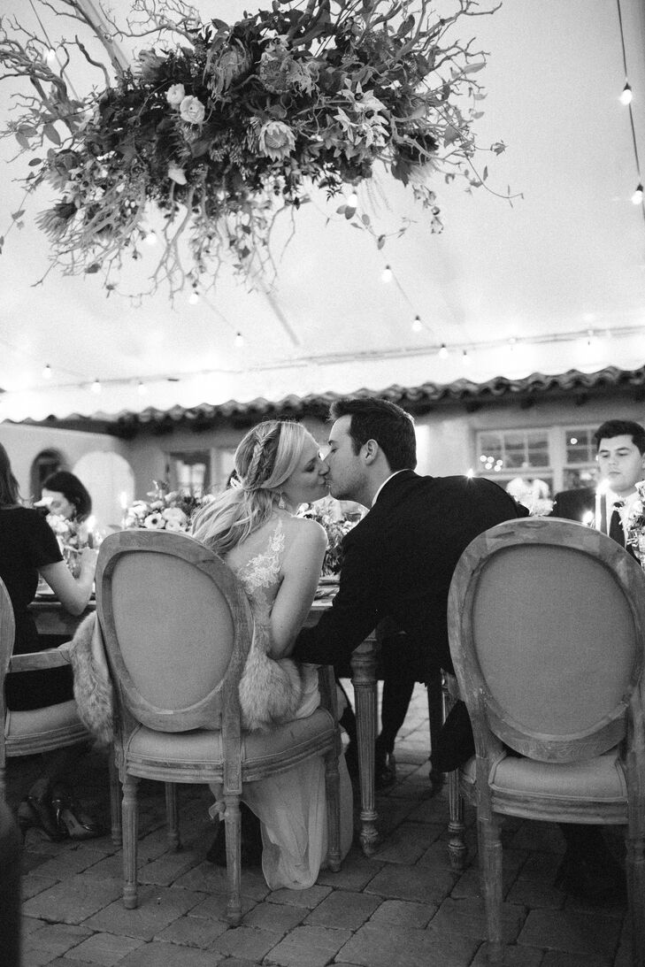Santa Lucia Preserve Tented Wedding Reception