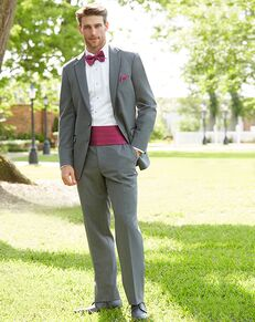 Allure Men Steel Gray Tuxedo