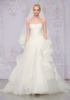 Monique Lhuillier Whisper Ball Gown Wedding Dress