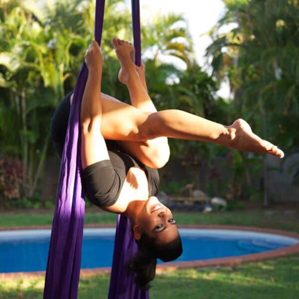 Aerial silks Photoshoot