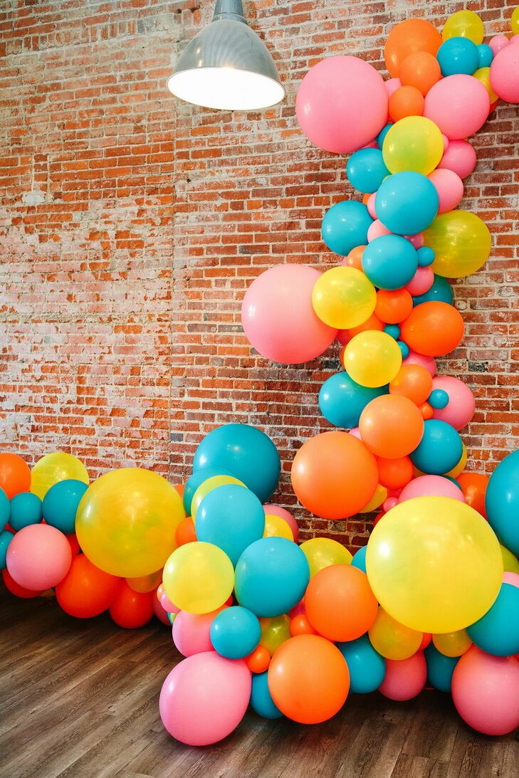 Reception Balloon Display at the Unique Space in Los Angeles, California