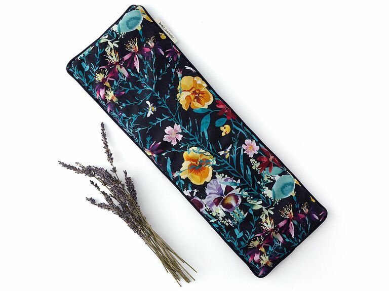floral scented heat pillow