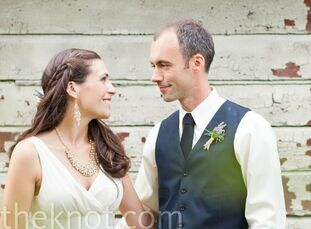 The Bride Becky Horner, 25, a program manager for a nonprofit The Groom Shaun Curtis, 30  The Date June 25  Becky and Shaun describe their wedding sty
