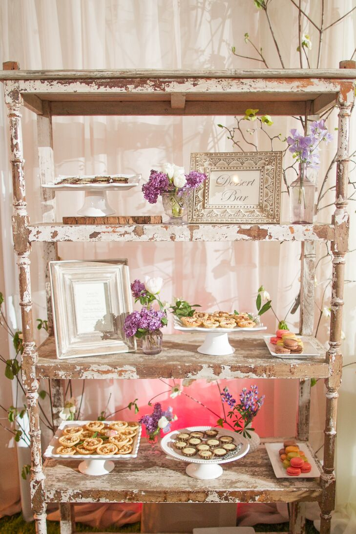 In addition to the cake, guests had their choice of snacks and desserts from the dessert bar.