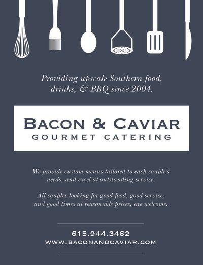 Bacon & Caviar Gourmet Catering