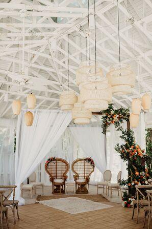 Beachfront Hindu Fusion Wedding at the Sandbar Restaurant in Anna Maria, Florida