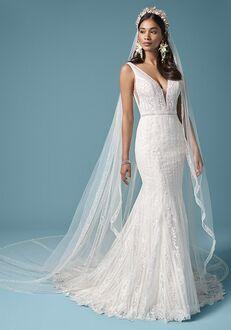 Maggie Sottero CORETTA ROSE Sheath Wedding Dress