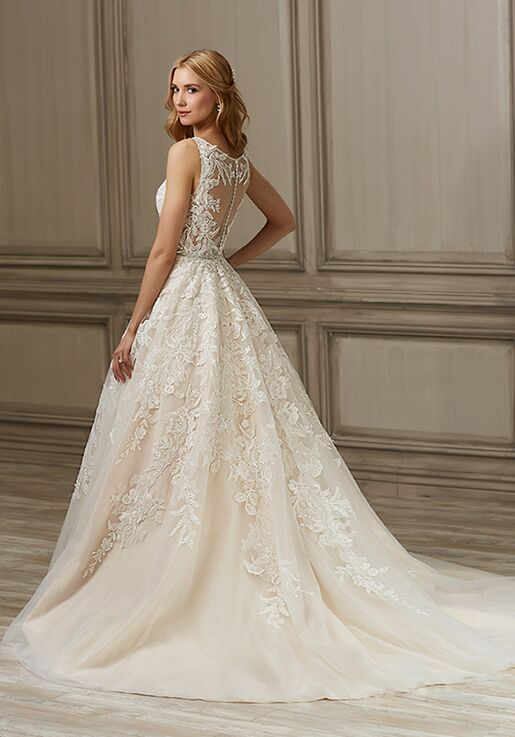 08a1431674 Adrianna Papell Platinum Ember Wedding Dress - The Knot