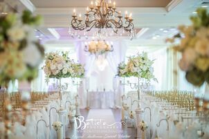 Wedding reception venues in orlando fl the knot the crystal ballroom at sunset harbor in daytona junglespirit Image collections