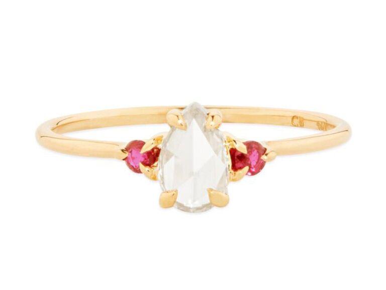 ruby birthstone ring