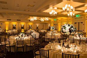 Classic Garland Ballroom Reception