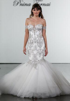 Pnina Tornai for Kleinfeld 4711 Mermaid Wedding Dress