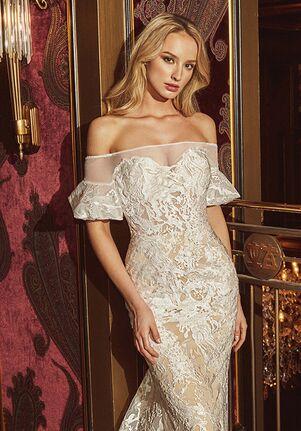 Calla Blanche 18233 Stephanie Sheath Wedding Dress