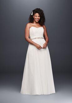 David's Bridal Galina Style 9WG3438 A-Line Wedding Dress
