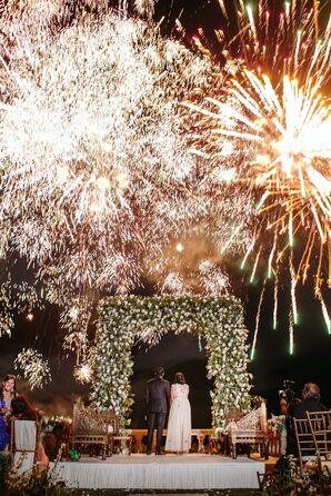 Celebratory Firework Display