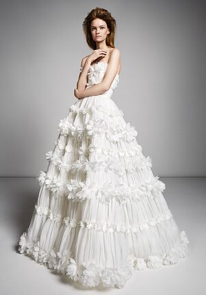 Viktor&Rolf Mariage MILLEFEUILLE FLOWER GOWN Ball Gown Wedding Dress