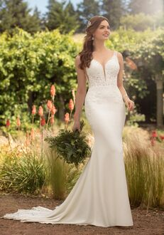 Essense of Australia D2503 Sheath Wedding Dress
