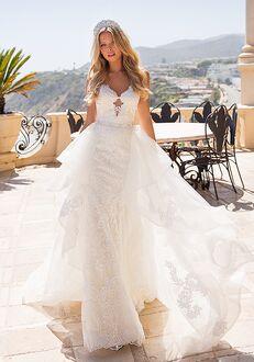 Moonlight Couture H1371 Mermaid Wedding Dress