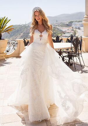Moonlight Couture H1371 Mermaid Wedding Dress