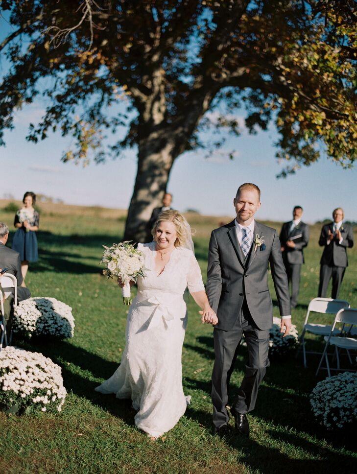 Allison and Matthew Recessional