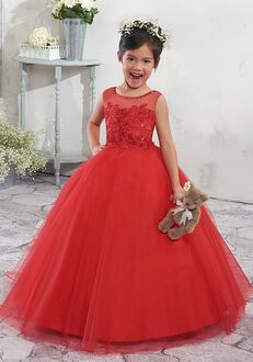 Mary's Angel by Mary's Bridal MB9003 Red Flower Girl Dress