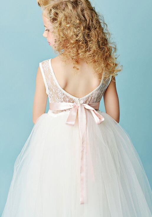 FATTIEPIE jane ivory Flower Girl Dress