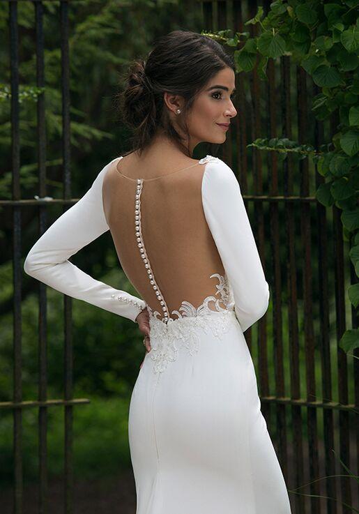Sincerity Bridal 44045 Sheath Wedding Dress