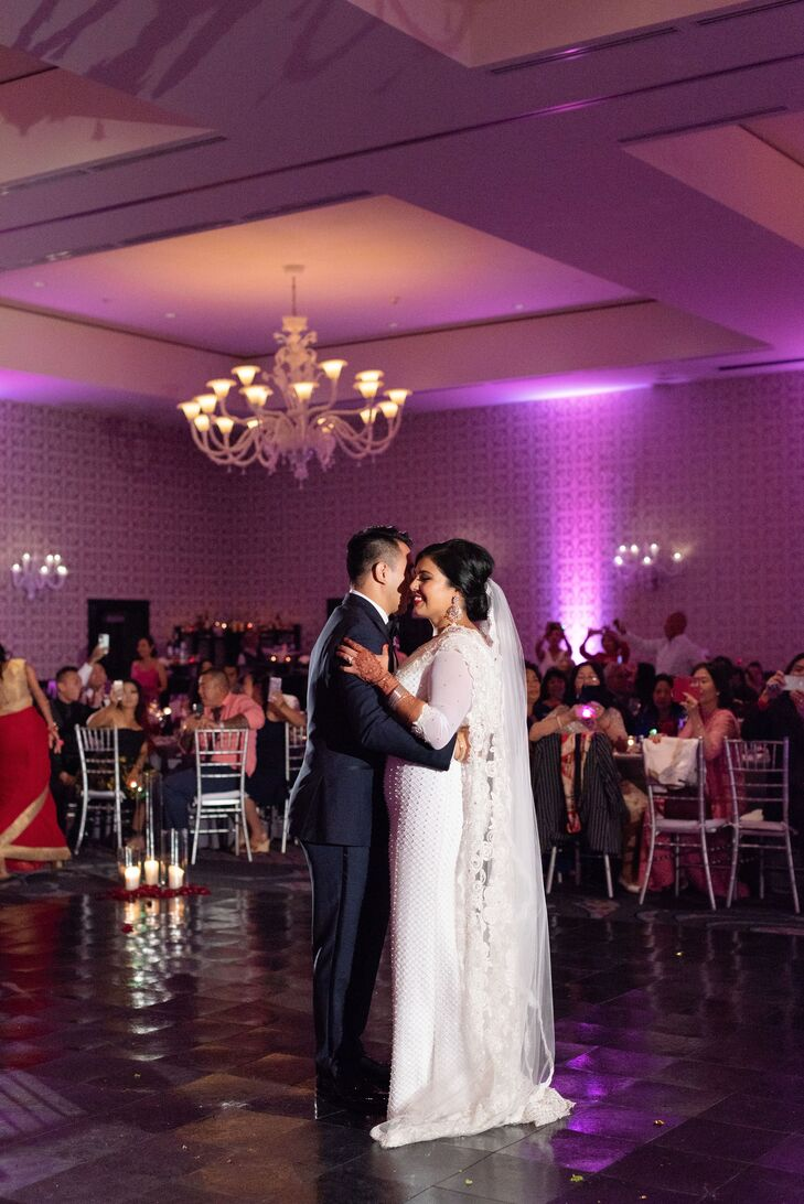 Modern First Dance at The Nines Hotel in Portland, Oregon