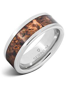 Serinium® Collection Mycenae — Royal Copper™ Serinium® Inlay Ring-RMSA002713 Serinium® Wedding Ring