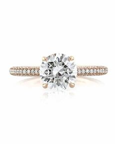 Mark Broumand Elegant Cut Engagement Ring