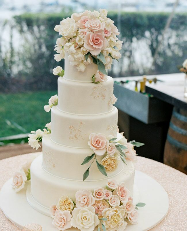 Gumpaste Flowers For Wedding Cakes: Fresh Or Sugar Wedding Cake Flower Quiz -- See The Photos