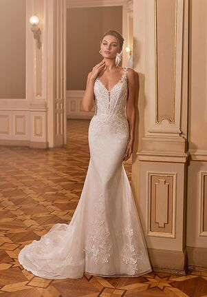 Moonlight Collection J6829 Mermaid Wedding Dress