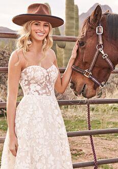 Lillian West 66067 A-Line Wedding Dress