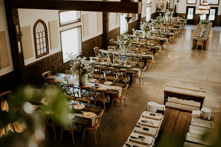Rustic Reception at The Forest in Wappapello, Missouri
