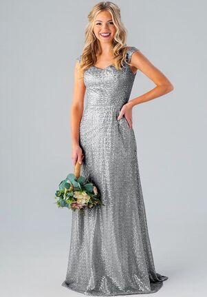 Kennedy Blue Sawyer Off the Shoulder Bridesmaid Dress