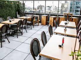 Kimoto Rooftop Garden Lounge - Main Lounge - Rooftop Bar - Brooklyn, NY