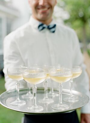 Passed Champagne for Cocktail Hour