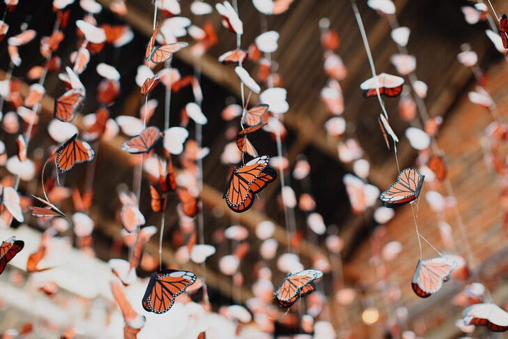 Monarch Butterfly Garlands