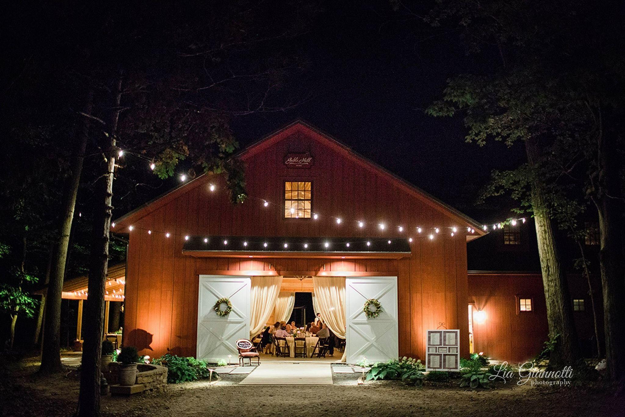 Gable Hill Barn Reception Venues Marcellus Mi