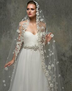 Blossom Veils & Accessories BV1464 Ivory Veil