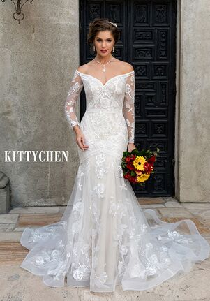 KITTYCHEN MORGAN, H2051 Mermaid Wedding Dress