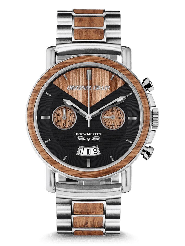 Wood watch 15-year anniversary gift
