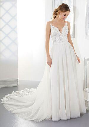 Morilee by Madeline Gardner/Blu Autumn A-Line Wedding Dress