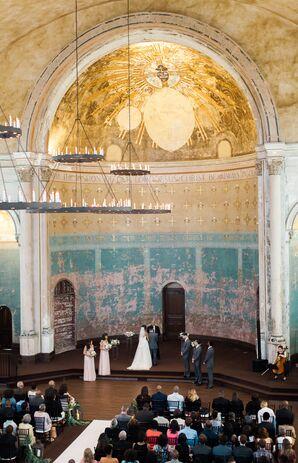 Historic Monastery Event Center Ceremony