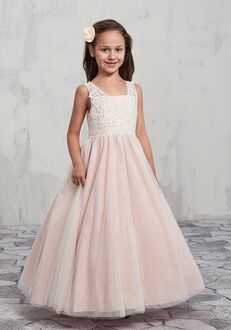 Mary's Angel by Mary's Bridal MB9002 Pink Flower Girl Dress