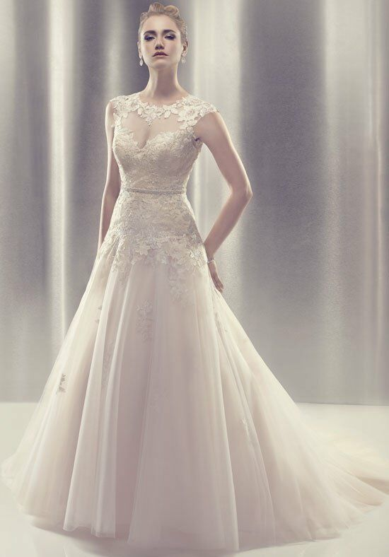 Cb couture b085 wedding dress the knot for Cb couture wedding dresses