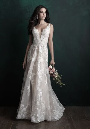 Allure Couture C505 A-Line Wedding Dress