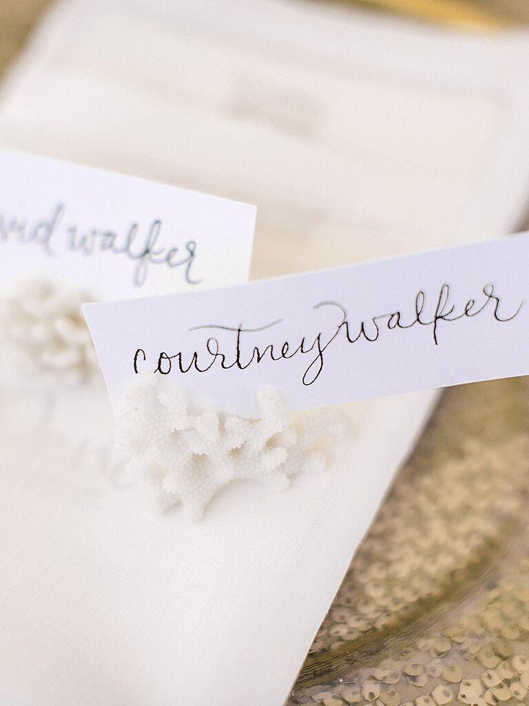Wedding Escort Cards. Pretty Wedding Escort Cards. Cool Wedding ...