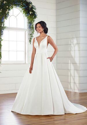 Essense of Australia D3109 A-Line Wedding Dress